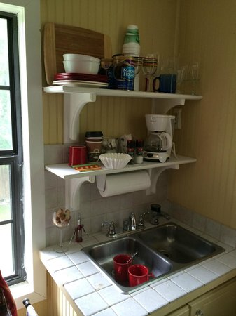 The Mary Geasland Guest House : Kitchenette