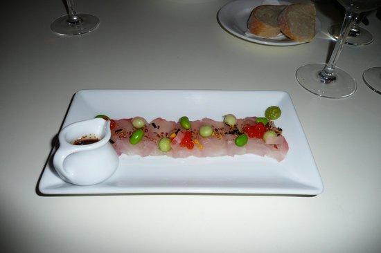 Ortega Fish Shack: Kingfish Sashimi
