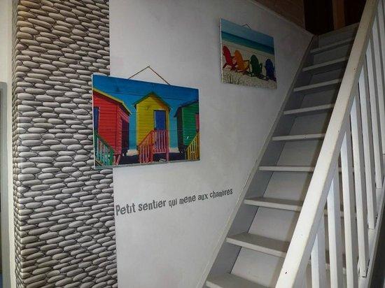 Les Abris-Côtiers : Vers l'étage...