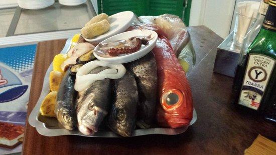 La Frasquita: La scelta di pesce