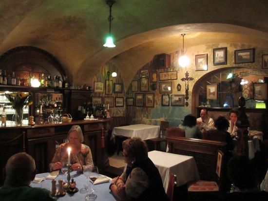 Restaurant U Modre kachnicky : Innenansicht
