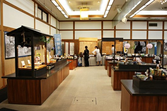 Kurobe Kanko Hotel: Buffet dining hall