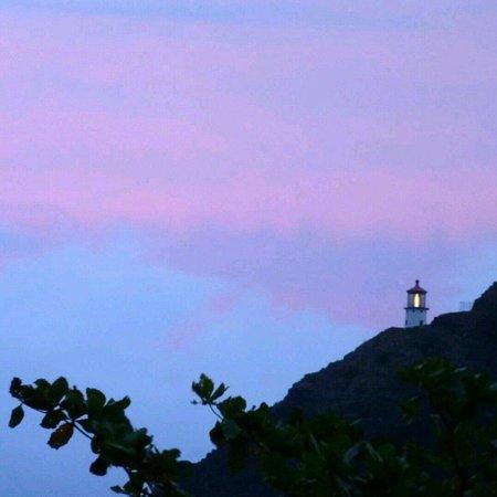 Chief's Luau at Sea Life Park : At sunset
