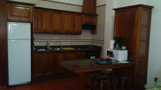 Apartamentos Los Verodes: Cocina