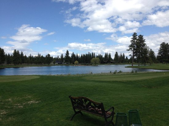 Aspen Lakes Golf Course: Back Nine Lake houses