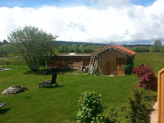 Pension Schweizerhaus: View from garden