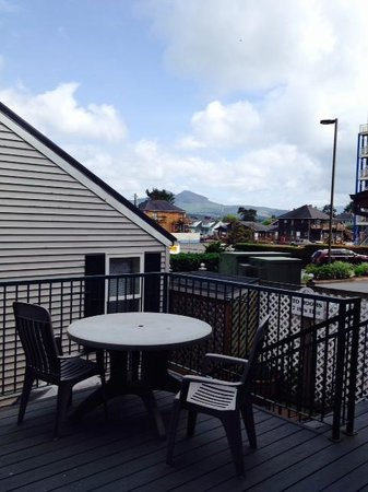 Inn at the Prom: Mountain View Room