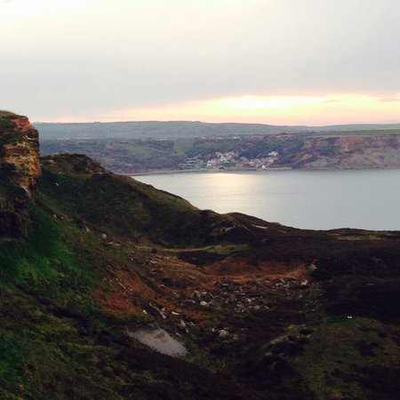 Runswick Bay: View from near kettleness point.
