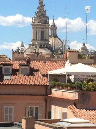 Grand Hotel de la Minerve: panorama