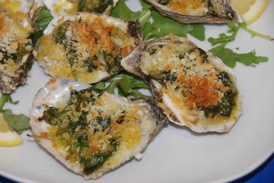 Longshore Restaurant: Oysters Rockefeller