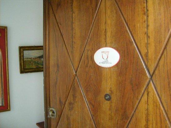 B&B La Rosa e il Peperoncino : entrata della camera