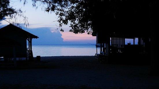 Bottle Beach 1 Resort: coucher de soleil 2