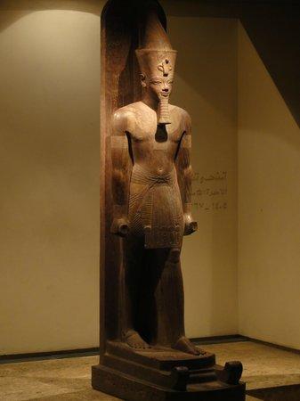 Luxor-Museum: Статуи Луксорского музея в отличном сохране