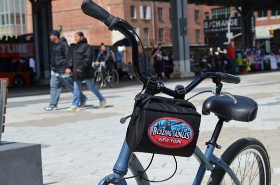 Blazing Saddles Bike Rentals & Tours: La bici noleggiata!