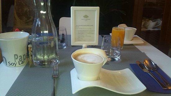 Antiguo Casino Hotel: Desayuno