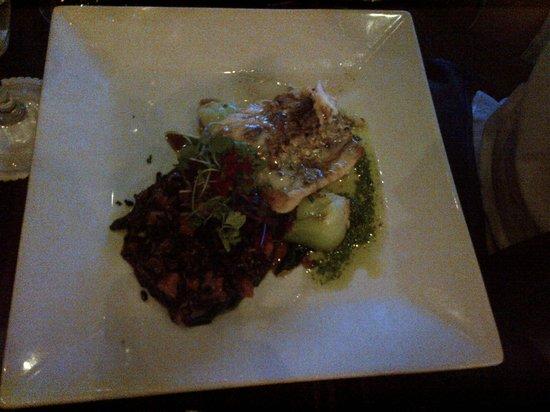 Masraff's : Crusted sea bass