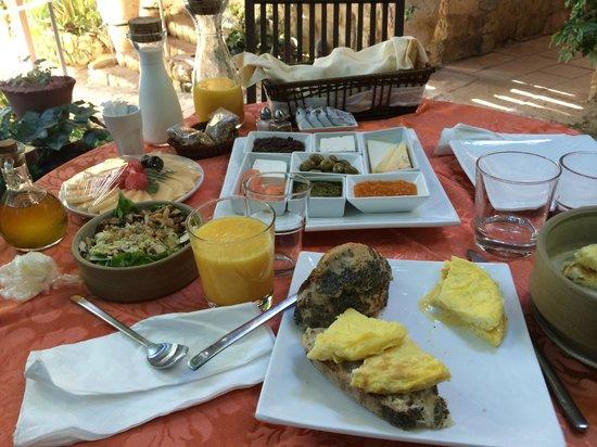 Pina Balev: breakfast!