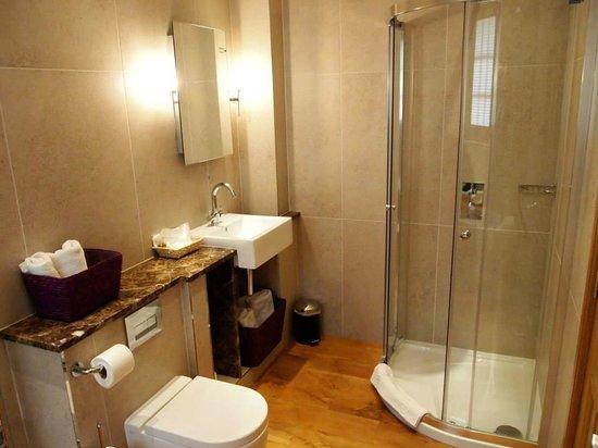 Plum Park Hotel: Shower