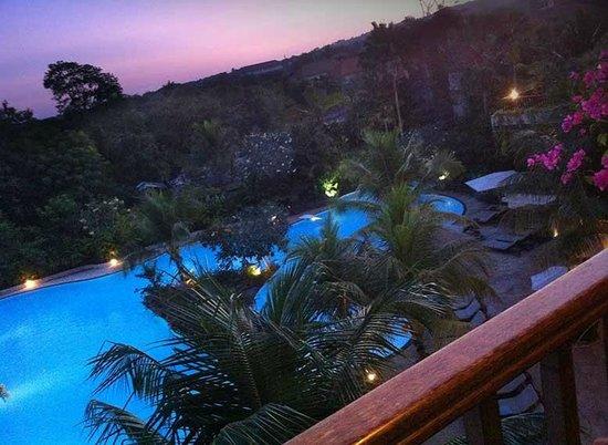 Swiss-Belhotel Segara Resort & Spa : View from balcony