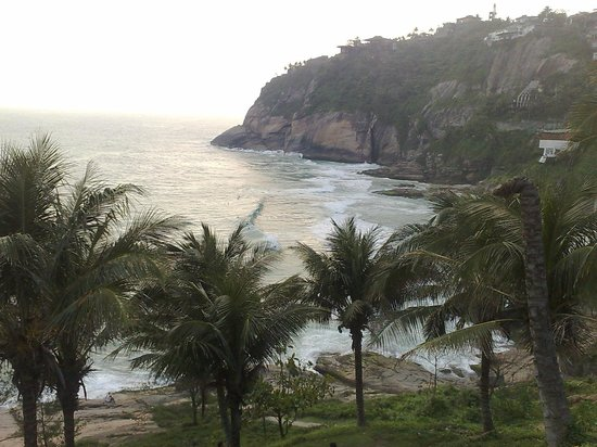 Joa Beach (Joatinga): vista da chegada a praia