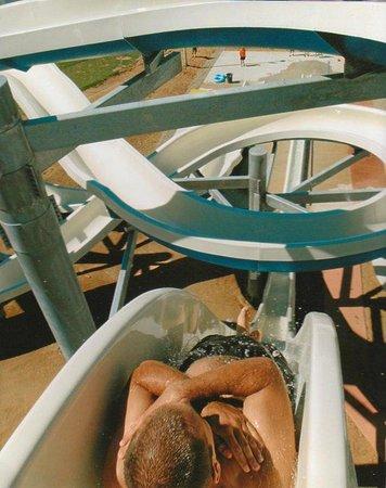 Yogi Bear's Jellystone Park Camp Resort at Barton Lake: Water slide