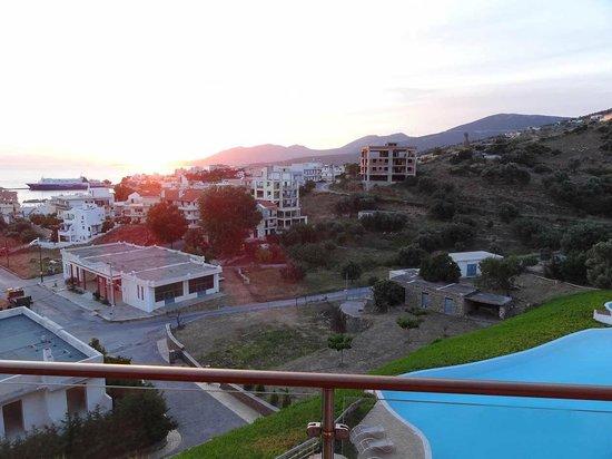 Evia Hotel & Suites: H θέα απο τον 2ο..