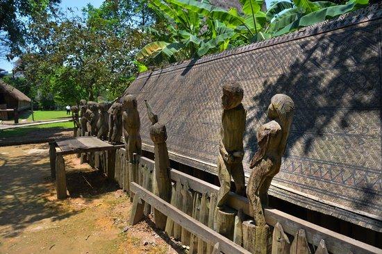 Ethnologisches Museum: Le repos du guerrier