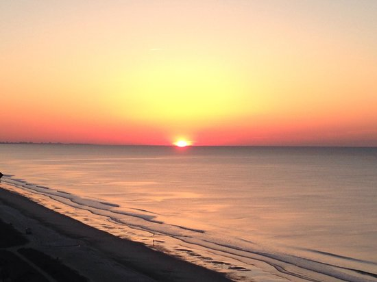 The Patricia Grand, Oceana Resorts: Sunrise from our balcony!