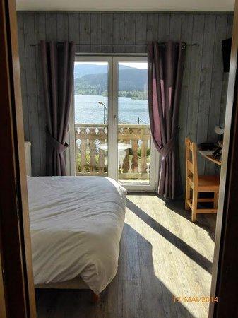 Les Reflets du Lac : de la chambre, vu sur lac