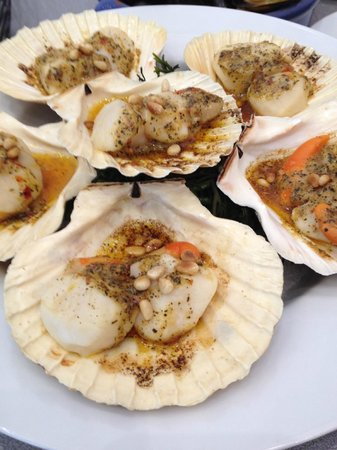 LochLeven Seafood Cafe : Chef's Scallops