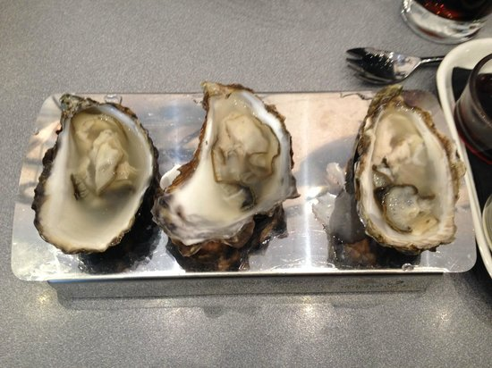 LochLeven Seafood Cafe : Oysters