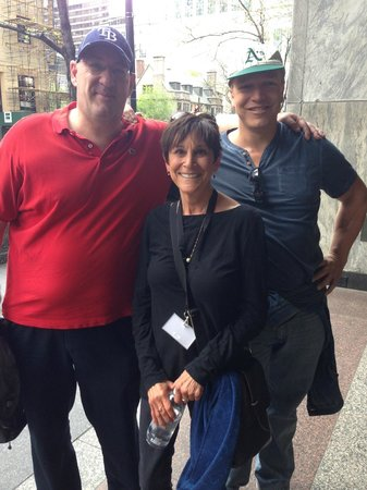Chicago Greeter: Rene and Simon together with Bobbie Edelman