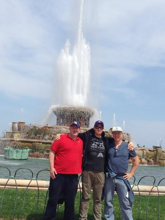 Chicago Greeter: Buckingham Fountain as working this time