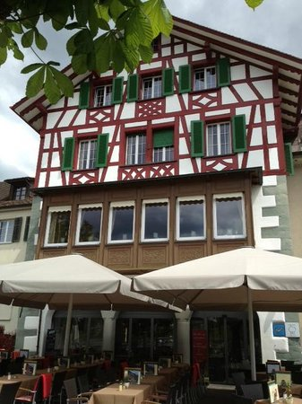Hotel-Restaurant Zur Rheingerbe: Hotelfront