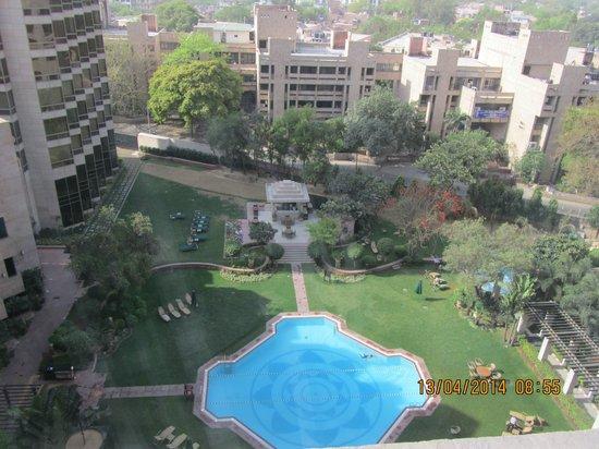 Hyatt Regency Delhi : Vista desde habitación 6º piso