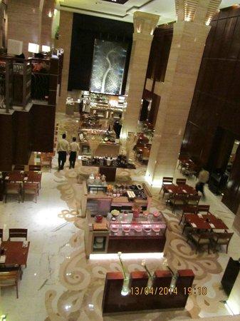 Hyatt Regency Delhi: El comedor de desayuno