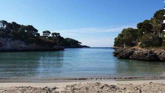 Barcelo Ponent Playa: Cala Fererra bay