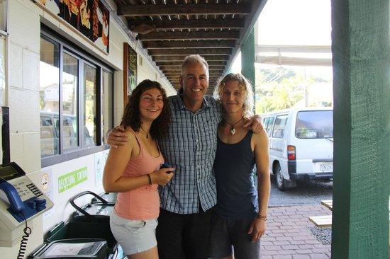 YHA Bay of Islands Paihia: Andy, der netteste Hotelbesitzer überhaupt