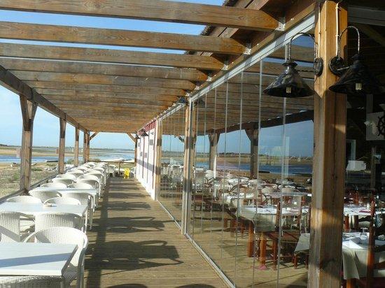 Vila Nova de Cacela, Portugal: A ria (quase) dentro do seu prato...