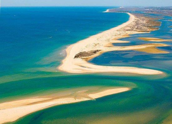 Vila Nova de Cacela, Portugal: Aqui começa a Ria Formosa