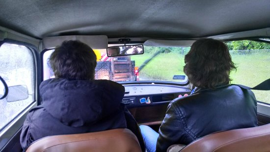 Crazy Guides - Private Tours : Riding in Trabant