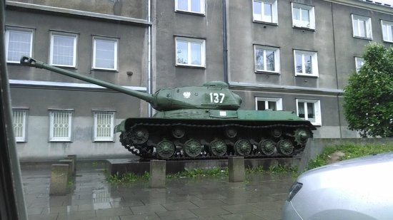 Crazy Guides - Private Tours : Old polish tank