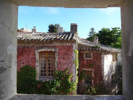 Belle de Nuit Chambres d'Hotes : Blick aus unserem Fenster