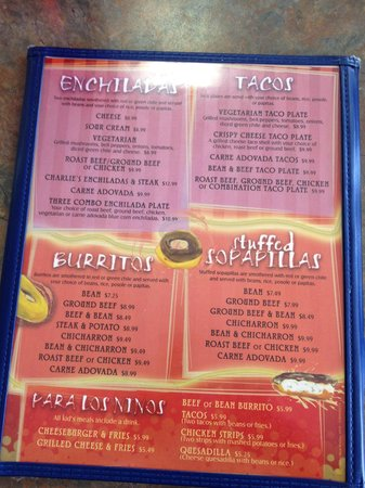 Charlie's Bakery and Cafe : Would you like to get an idea if what's on the menu before you go?