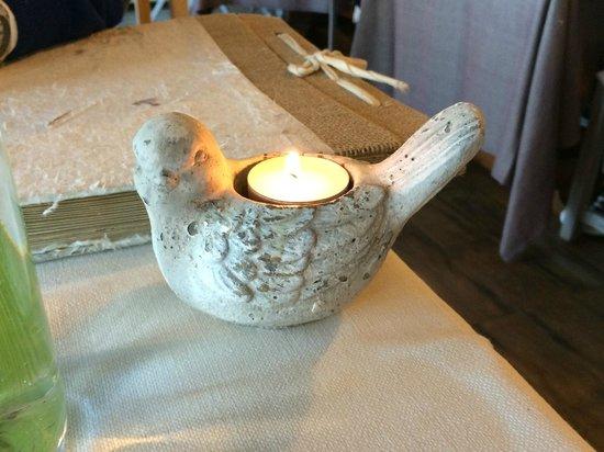 La Vigna: Candela, cena per due