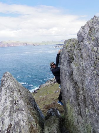 Vagabond Tours: Our guides demonstrating their climbing skills