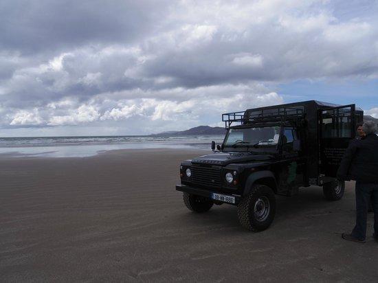 Vagabond Tours: Driving on the beach