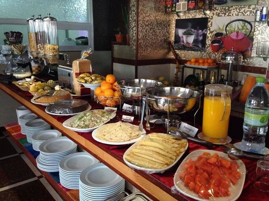 Le Vieux Nice Inn: Best breakfast  you can have in hulhumale