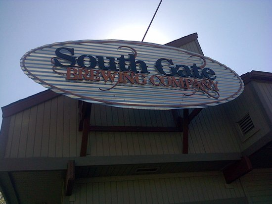 South Gate Brewing Company signage
