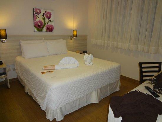 Taroba Hotel: quarto quando chagamos